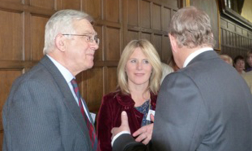Barry & Louise with Duke of York